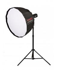 Portable parabolic softbox 90cm