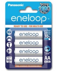 Panasonic eneloop BK-3MCCE/4BE Nickel Metal Hydride AA Batteries