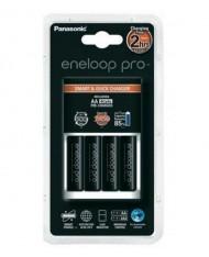 Panasonic Eneloop Pro BQ-CC55E charger including 4 eneloop pro AA 2500 mAh