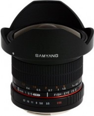 Samyang 8mm f/3.5 Asph IF MC Fisheye CSII DH for Canon