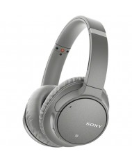 Sony WH-CH700N Wireless Noise-Canceling Over-Ear Headphones (Silver)