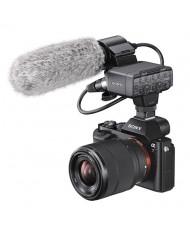 Sony Alpha a7S II with Sony XLR-K2M XLR Adapter Kit with Microphone
