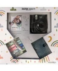 FujiFilm Instax mini 11 set box ( Charcoal Grey)