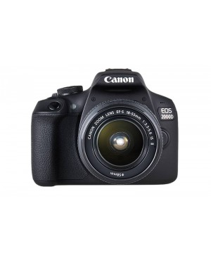 Canon EOS 2000D kit 18-55mm IS + SD16GB + Canon bag
