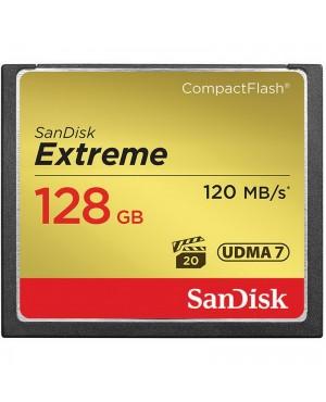 SanDisk 128GB Extreme CompactFlash Memory Card